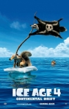 Ice Age: Continental Drift film poster